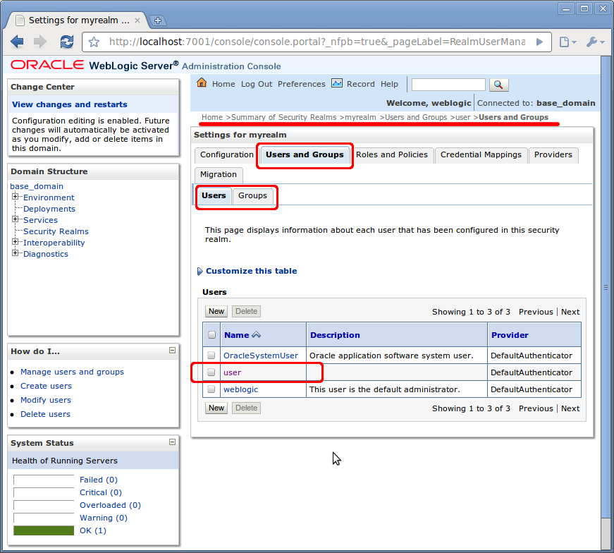 jax ws container level security on weblogic