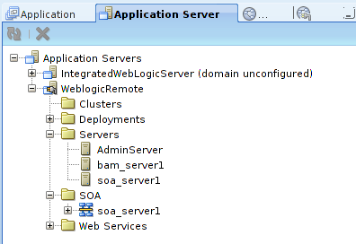 App Server Window